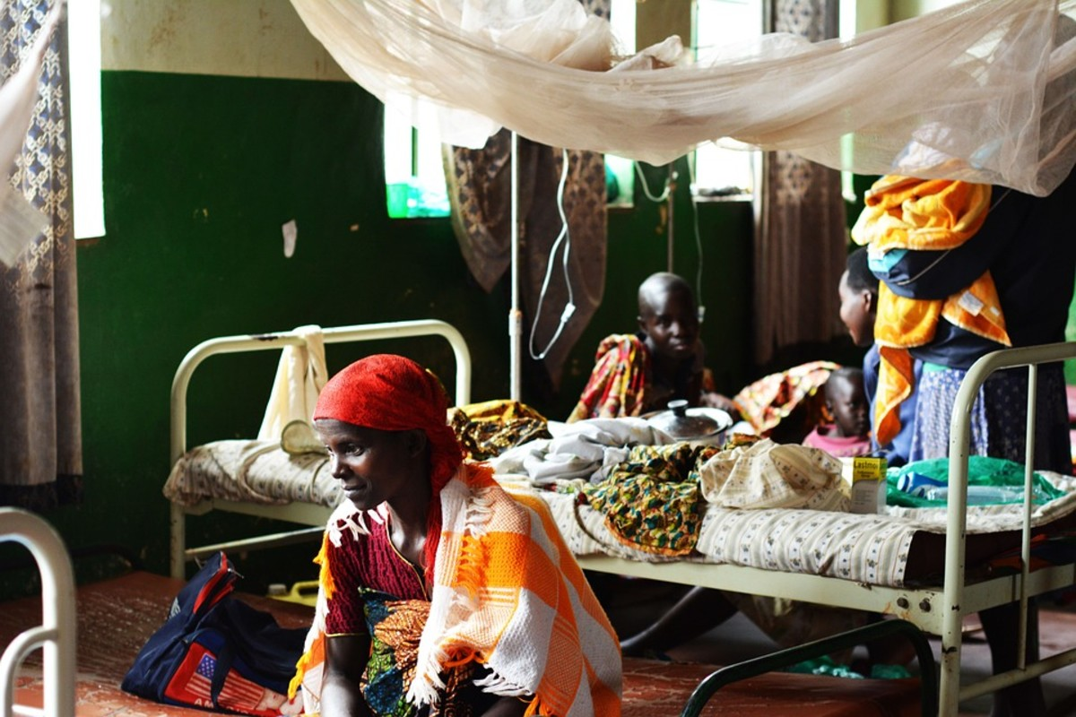 A poorly-equipped hospital in Burundi
