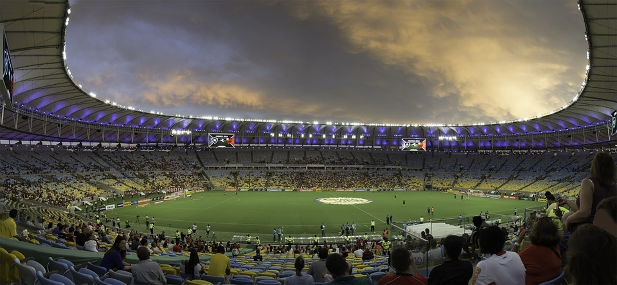 Maracana football stadium in Rio de Janeiro, Brazil, one of the projects marred by accusations of million-dollar corruption