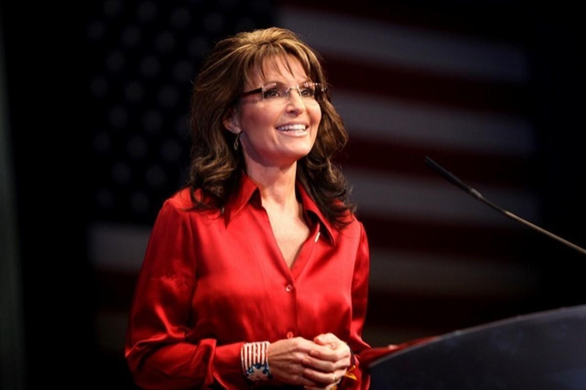 Sarah Palin, in 2012
