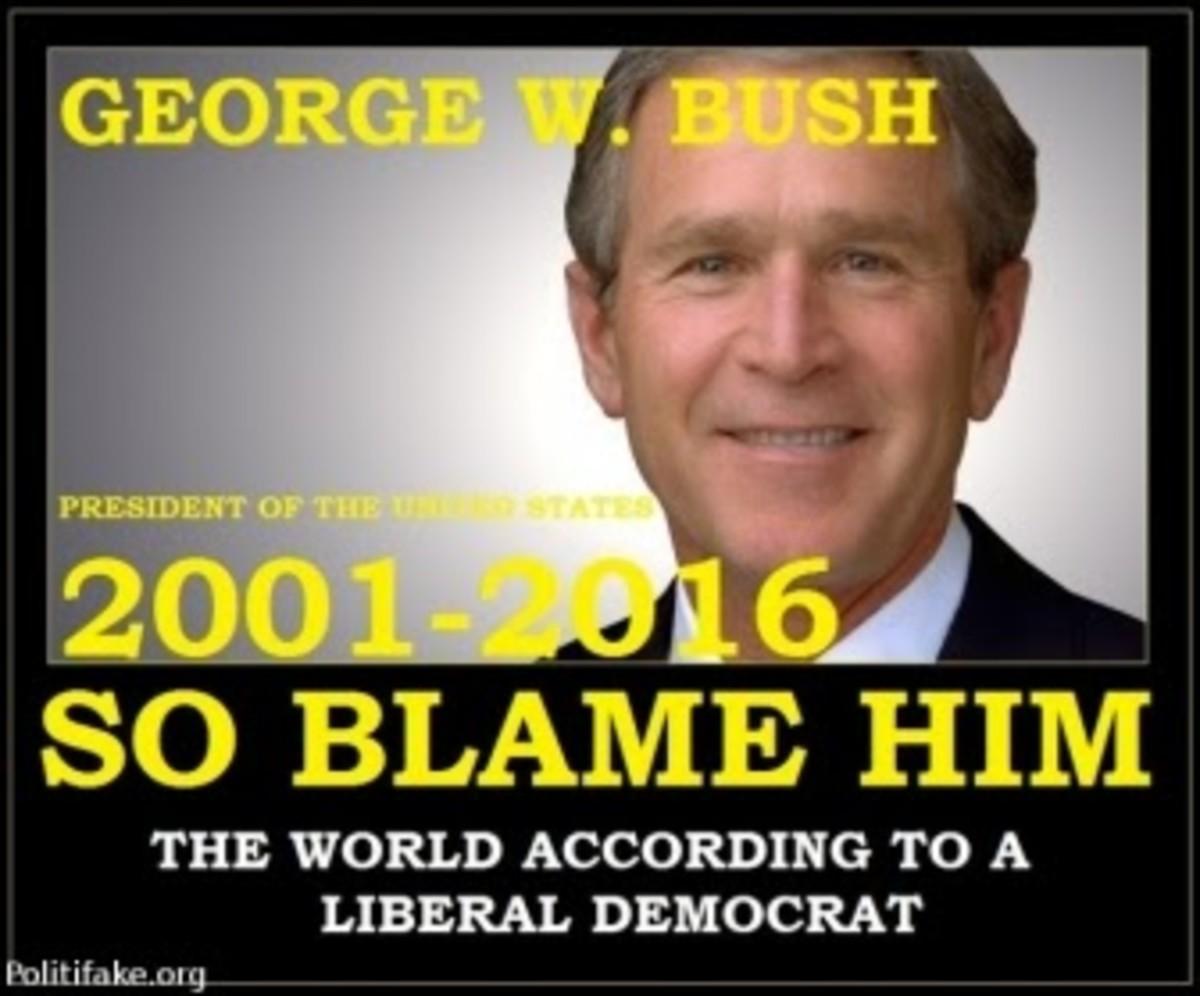 An Example of Bush Derangement Syndrome