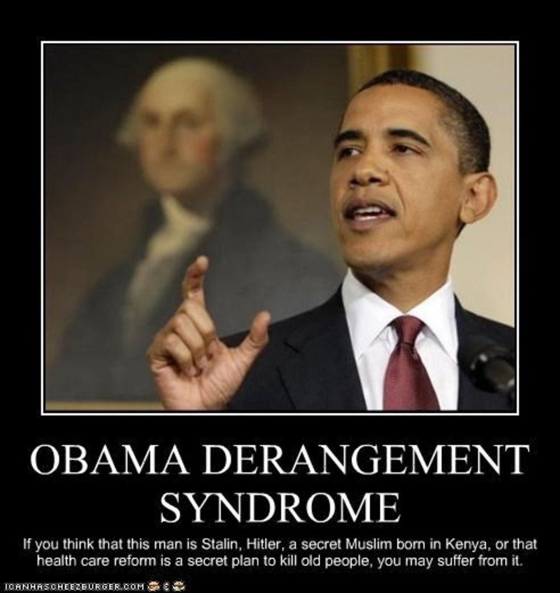 An example of Obama Derangement Syndrome
