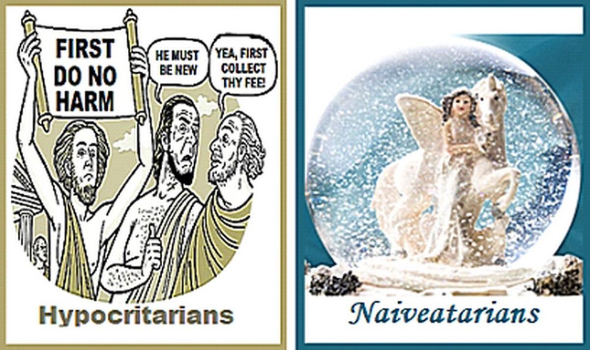 Hypocritarians and Naiveatarian