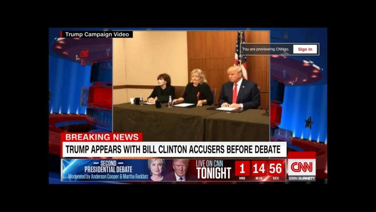 The Clinton accusers.