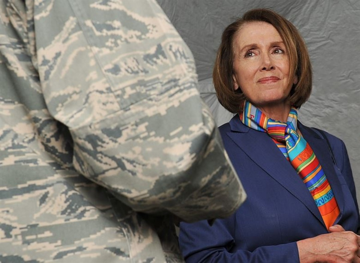 Minority Leader of the United States House of Representatives Nancy Pelosi
