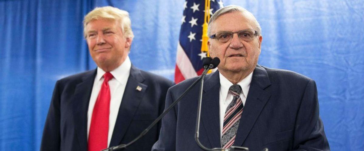 Trump and Arpaio