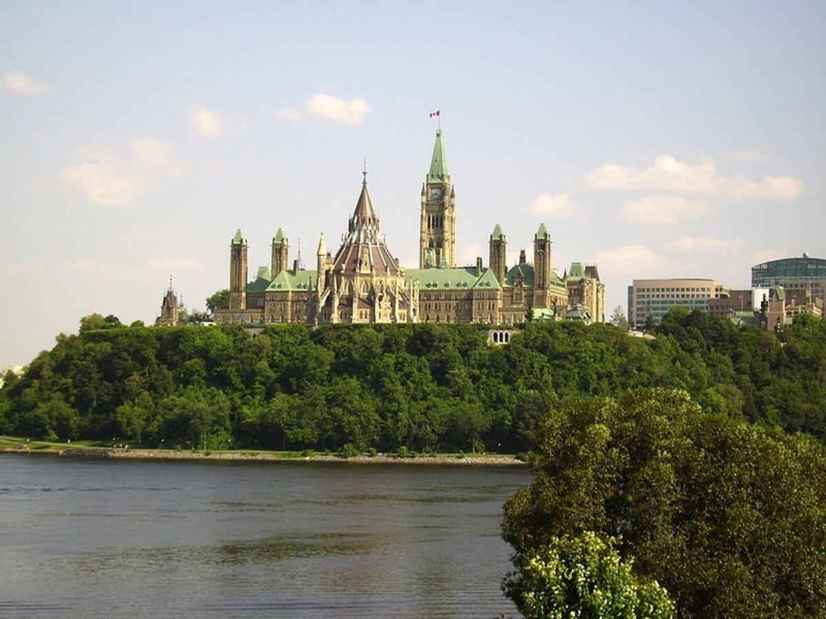 Parliament of Canada in Ottawa, Ontario