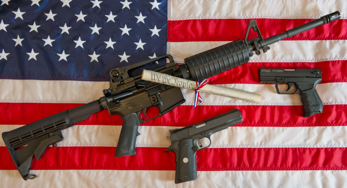 America is Only Country with Guns as a Constitutional Right