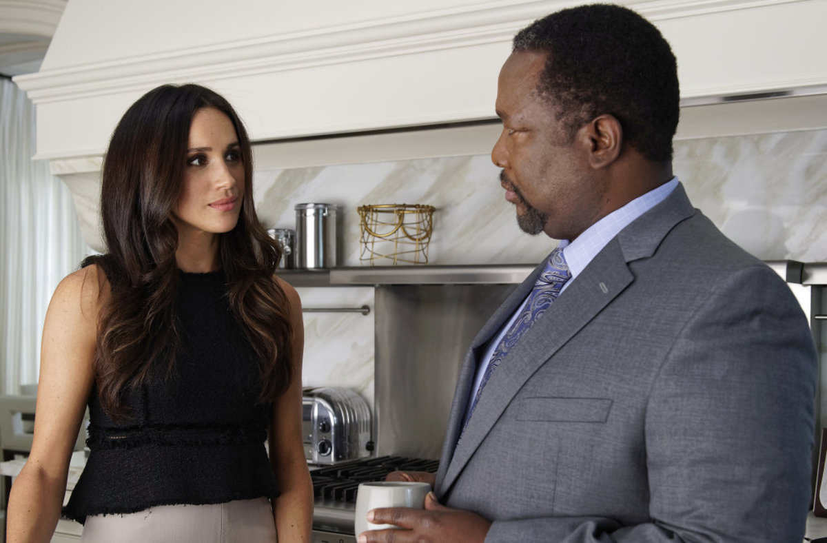 "Meghan Markle played Rachel Zane on ""Suits"""