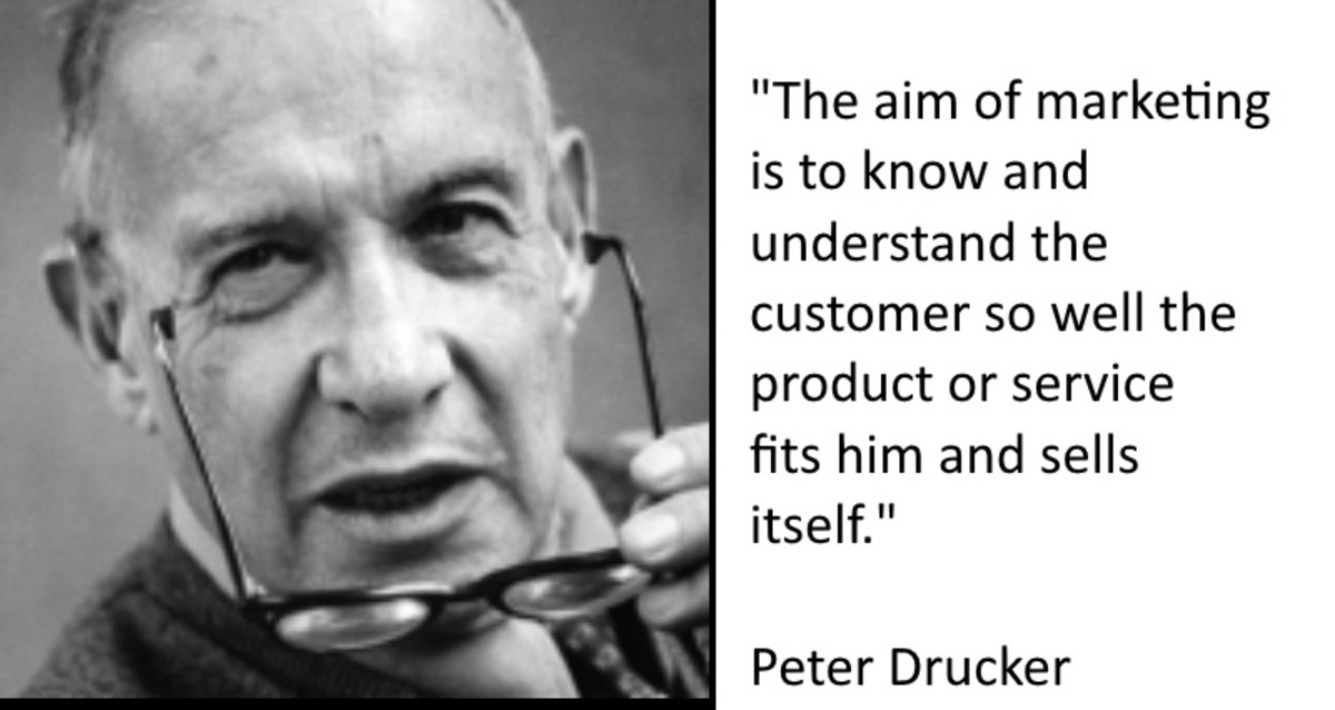 Peter Drucker, a world famous business author, believed advertising to be more effective when targed effectively.