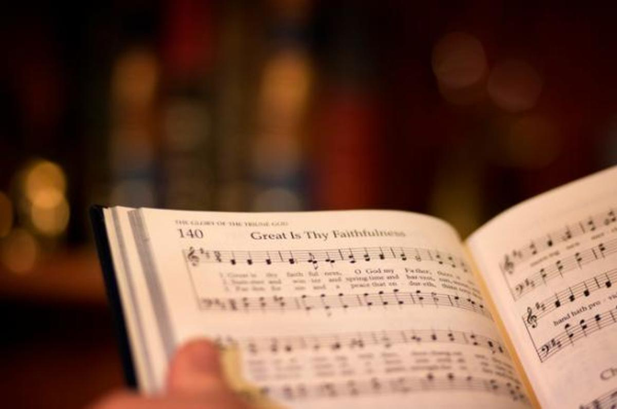 The songs the church used to sing are in the hymnals that are no longer used in some churches.
