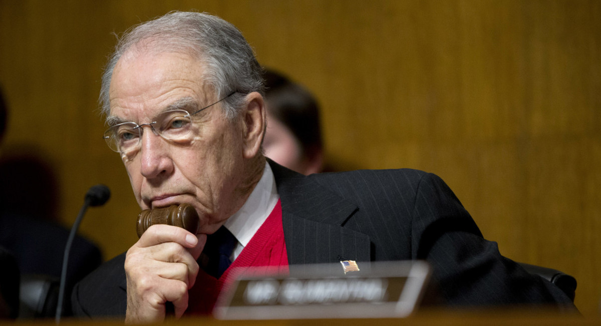 Chuck Grassley (R-IA), head of the Senate Judiciary Committee, is preparing to take-up legislation restricting Trump's ability to fire Mueller.