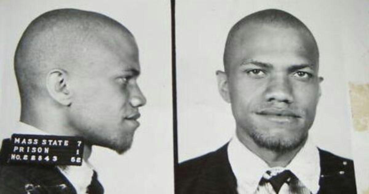Malcolm X mugshot.