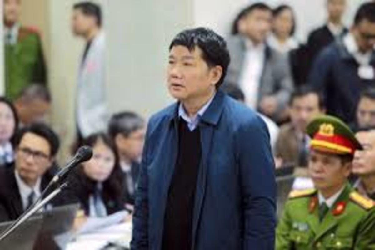 Dinh La Thang, a former member of the Politburo, faced charges of corruption