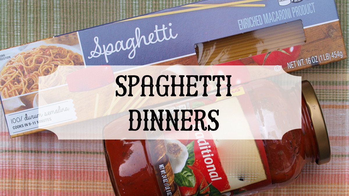 Spaghetti Dinners are a great way to raise money and bring the church and community together.