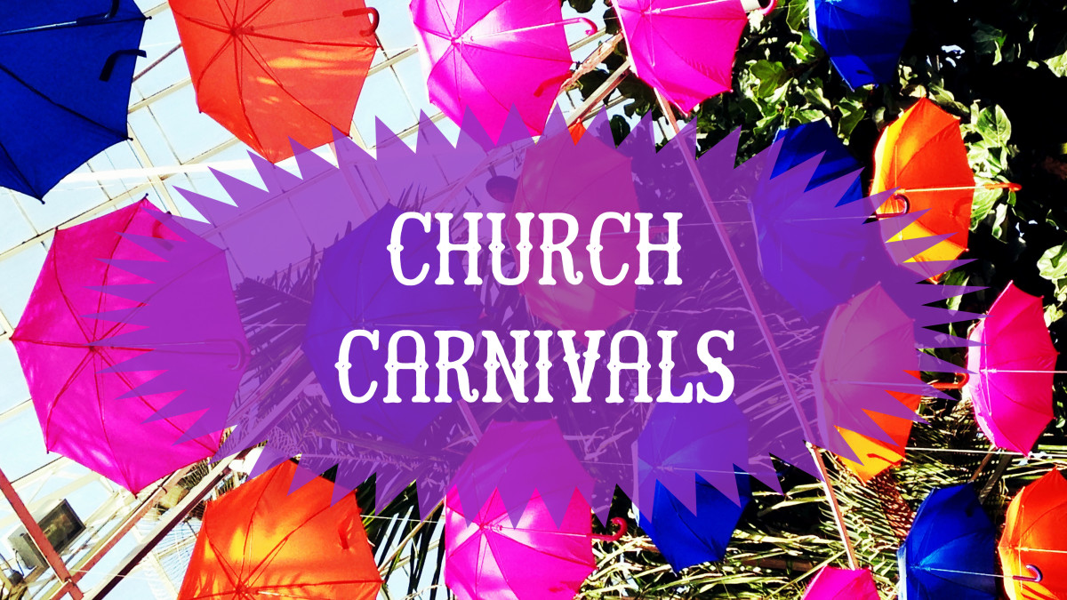 Fun, but lots of work, church carnivals can often be a big fundraising success.
