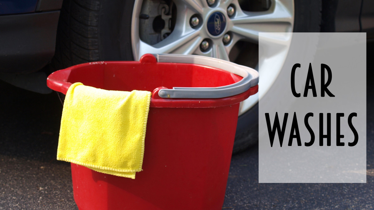 Car washes are an ideal fundraiser during the summer months.