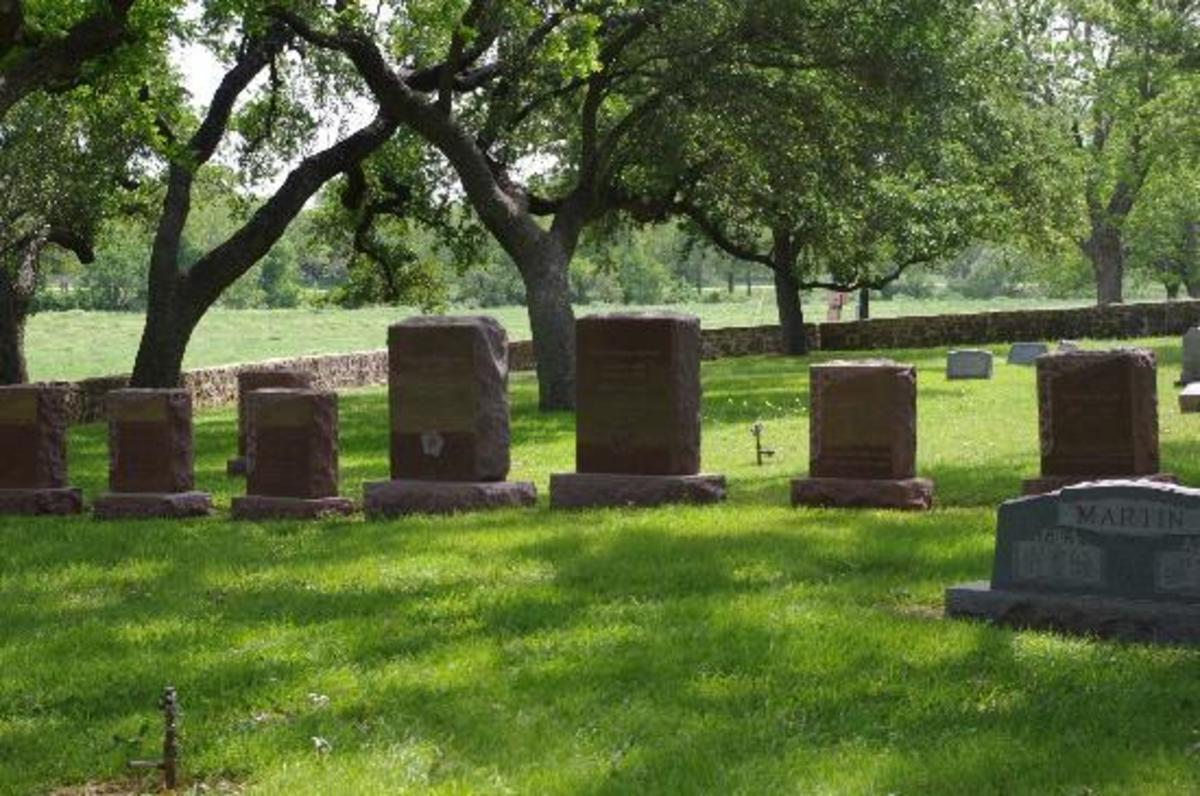 A grave is a permanent place for families to visit.
