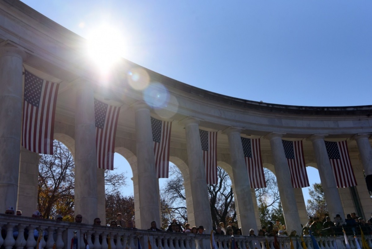 National Veterans Day Observance Held at Arlington National Cemetery