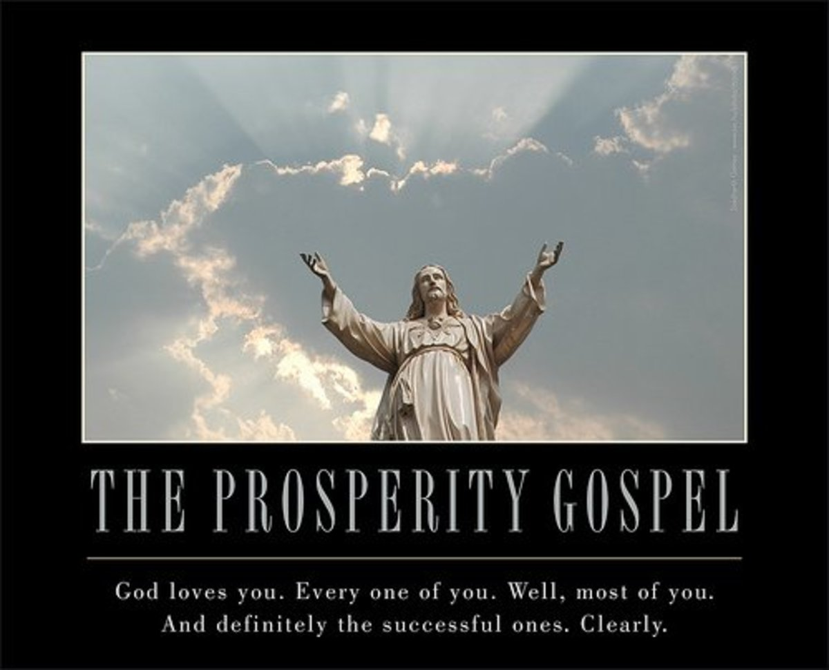 Is wealth a sign of God's approval?