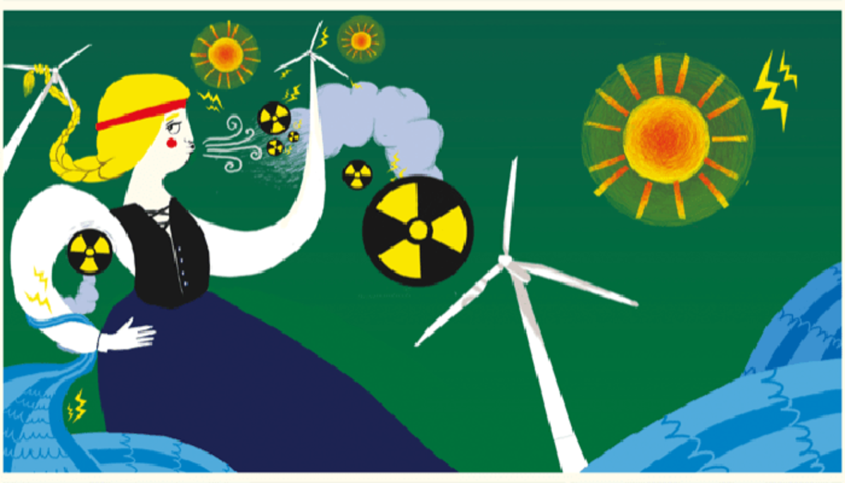 Wind farms, solar energy, and biomass are some of Finland's solutions to living sustainably