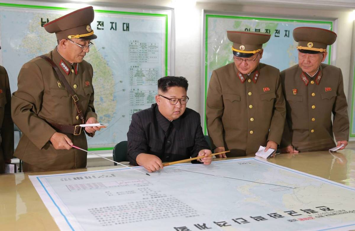 Kim Jong Un is a hands on leader and while he has little military background, his decisions are never questioned.