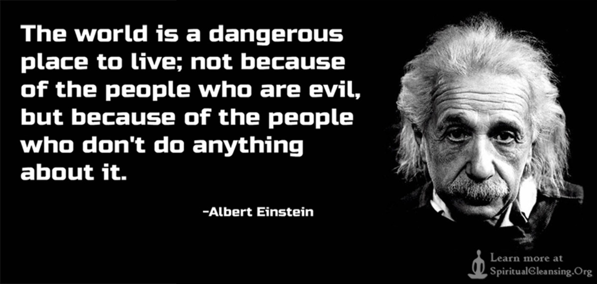"""""""The world is a dangerous place..."""""""
