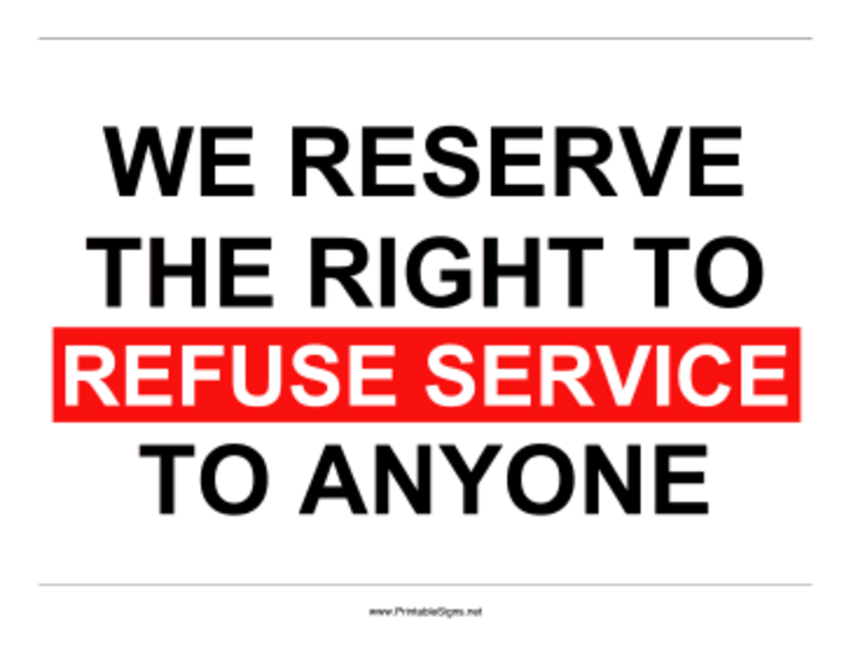 You are not guaranteed service