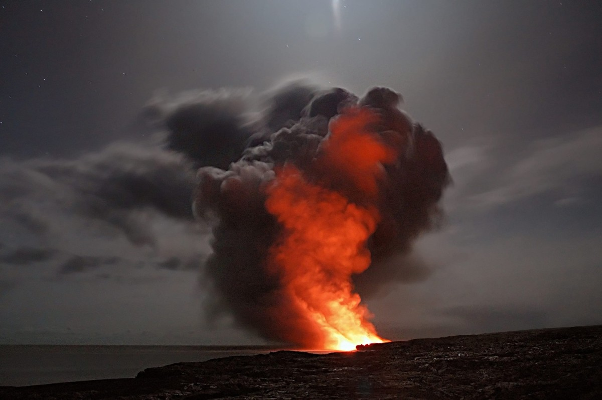 Natural Sources of Air Pollution: Erupting Volcanoes