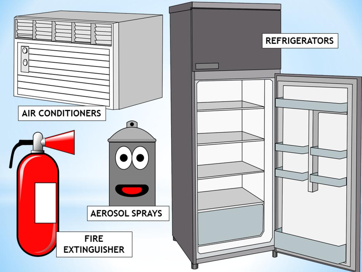 Sources of Stratospheric Ozone Depleters