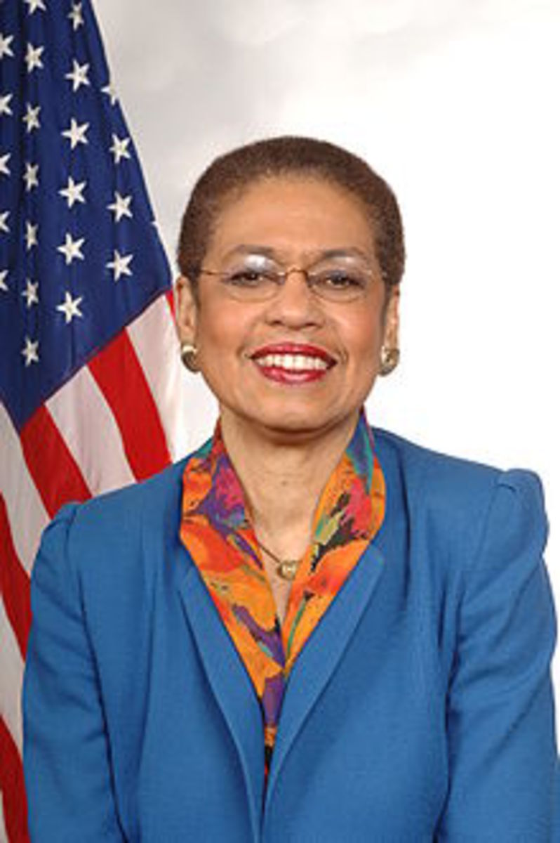 Eleanor Holmes Norton, District of Columbia Congressional Delegate