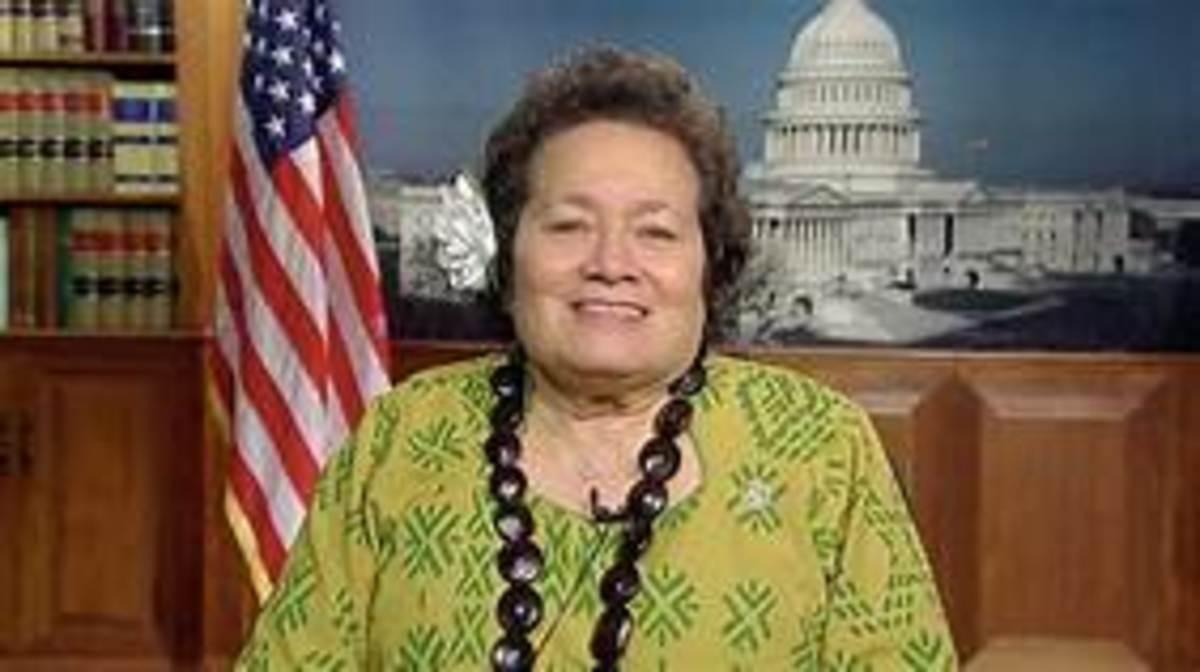 Aumua Amata, Representative for American Samoa