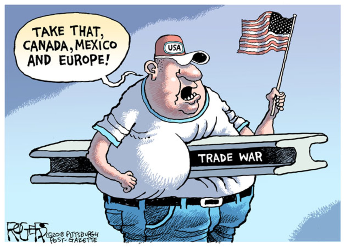 A Trade War Cartoon