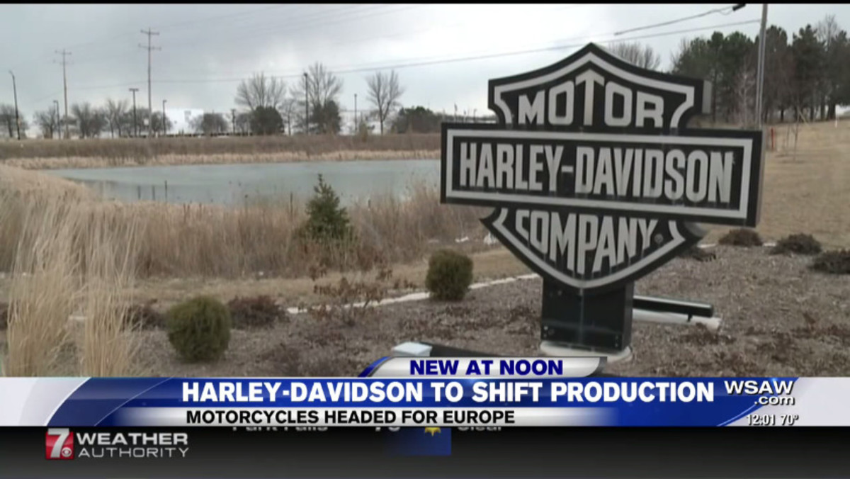 Harley-Davidson is the 1st American casualty in President Trump's 1st strike trade war, the company announced it will shut down the American facility building motorcycles sold in Europe killing American jobs. Those jobs now will go to the Europeans l