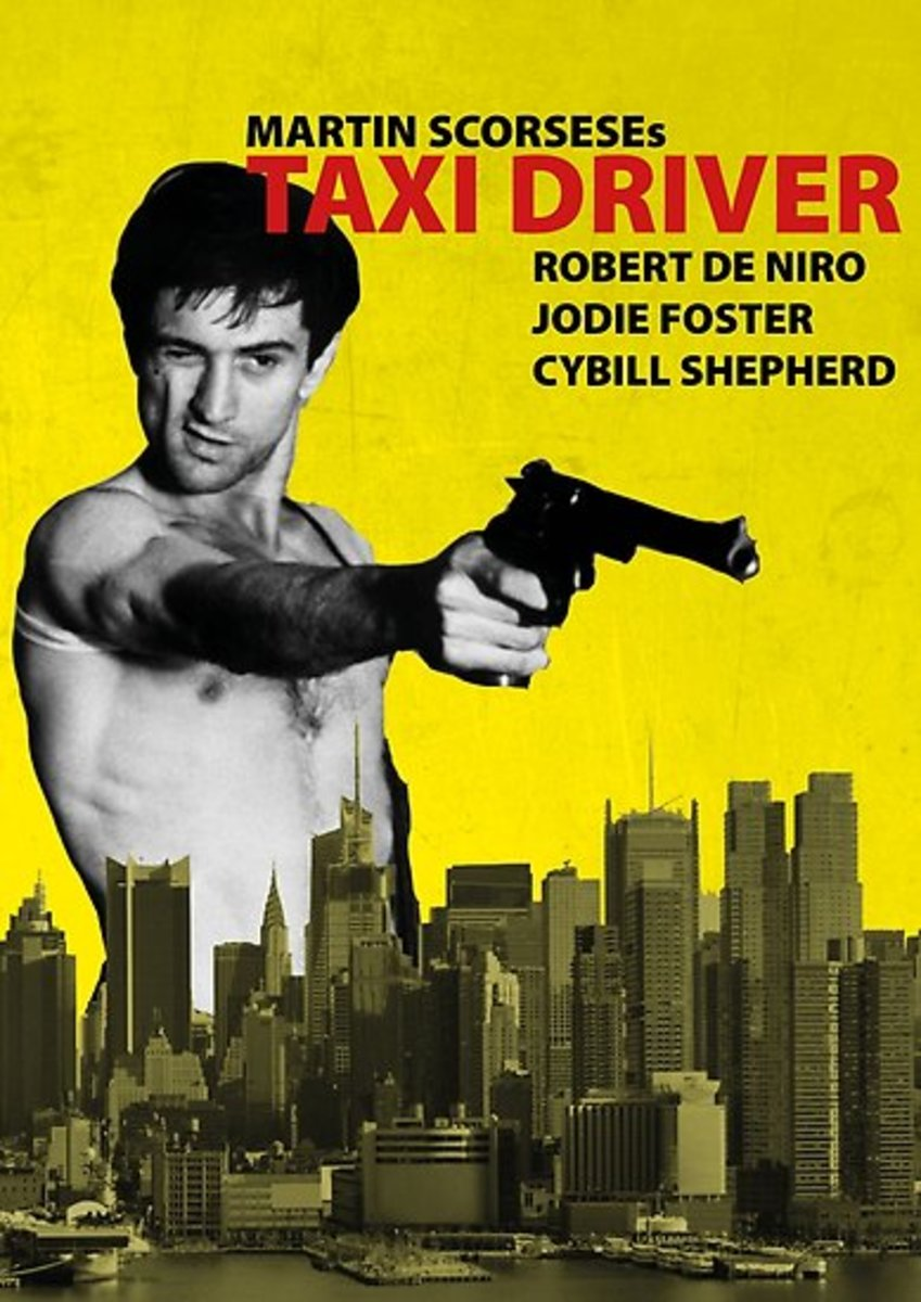 Robert De Niro's character in the movie taxi driver decided to assassinate the president of the United States in order to save the world. John Hinckley Jr. was inspired by this movie due to his obession with Jodie Foster who portrayed a prostitute.