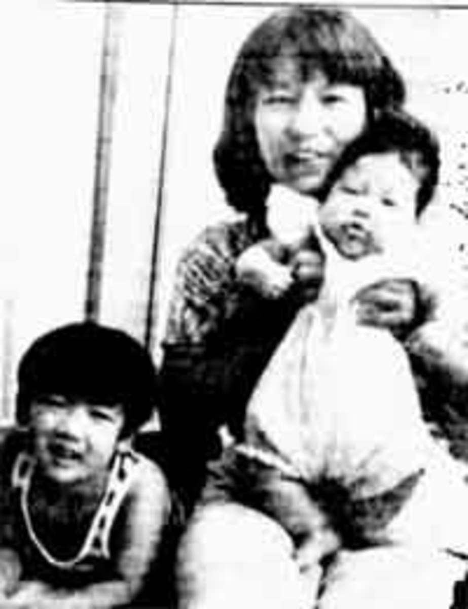 A Japanese mother drowned her children in order to save them from the shame of her divorce.