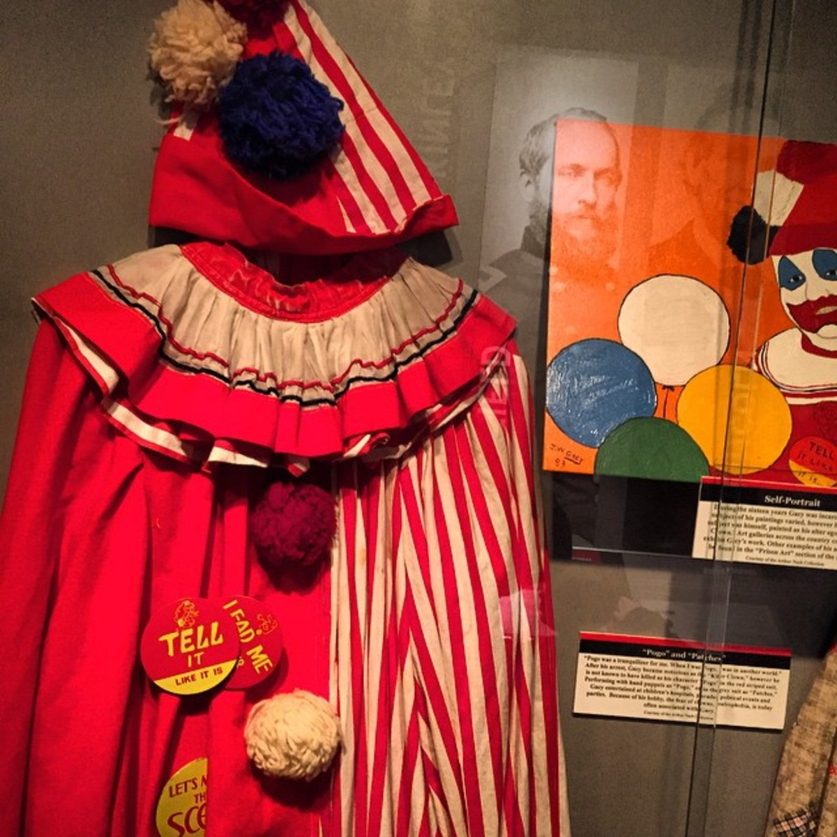 John Wayne Gacy's clown suit.