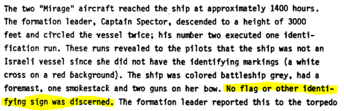 "Passage from page 13 of ""IDF History"" Report."