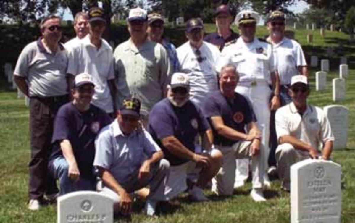 USS Liberty survivors gathering.