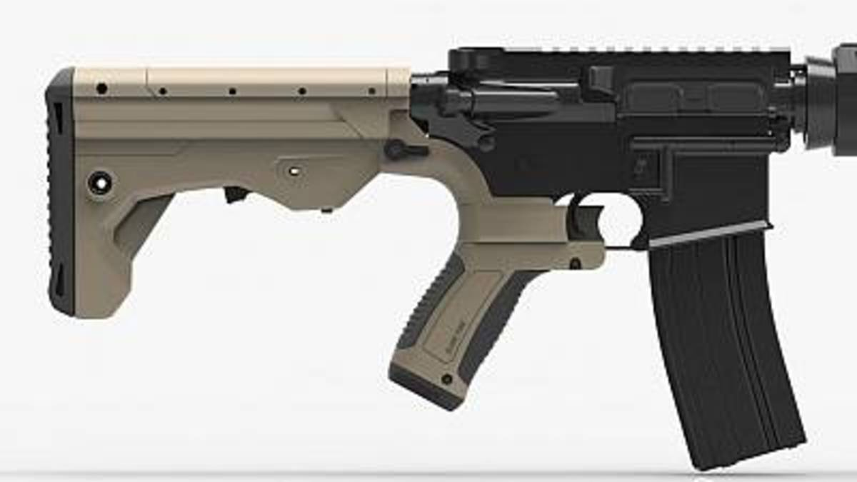 A bump-stock can enable a semi-automatic rifle to fire like a fully automatic weapon.
