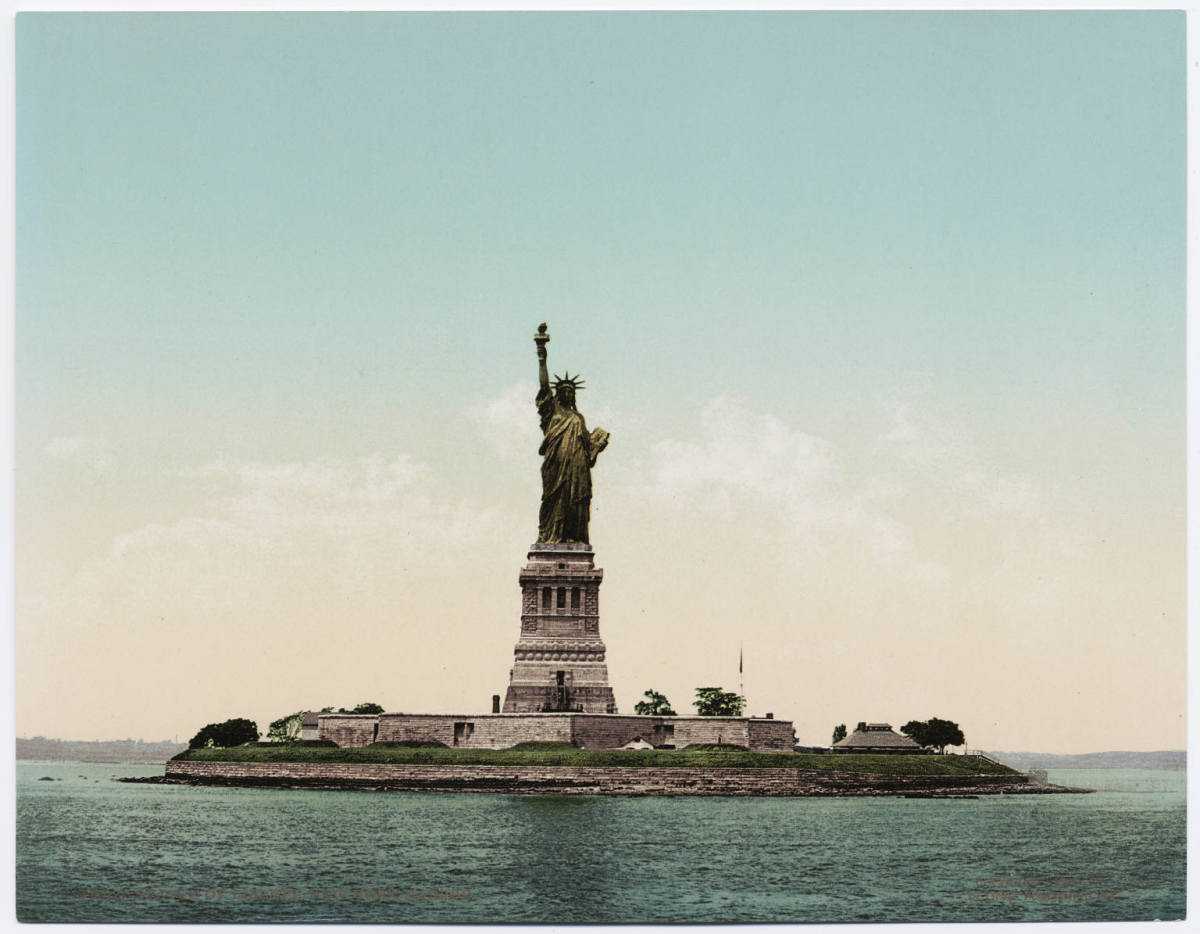 Monuments often become symbols as has the Statue of Liberty on Ellis Island. While it has remained as a symbol of liberty for Americans, it has also remained a symbol of hope for others world-wide.