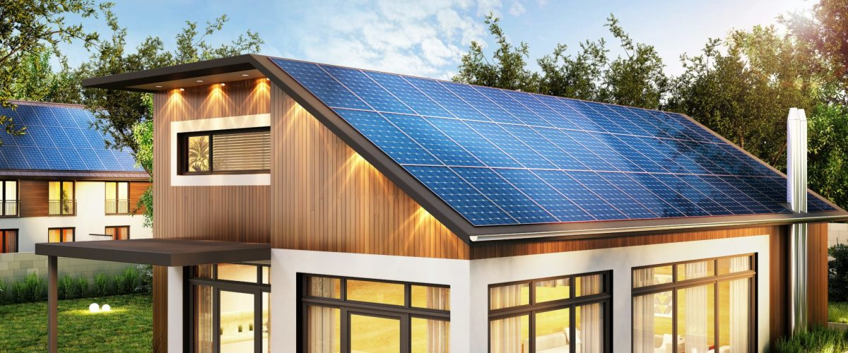 Solar panels are a must-have for eco-friendly homes...