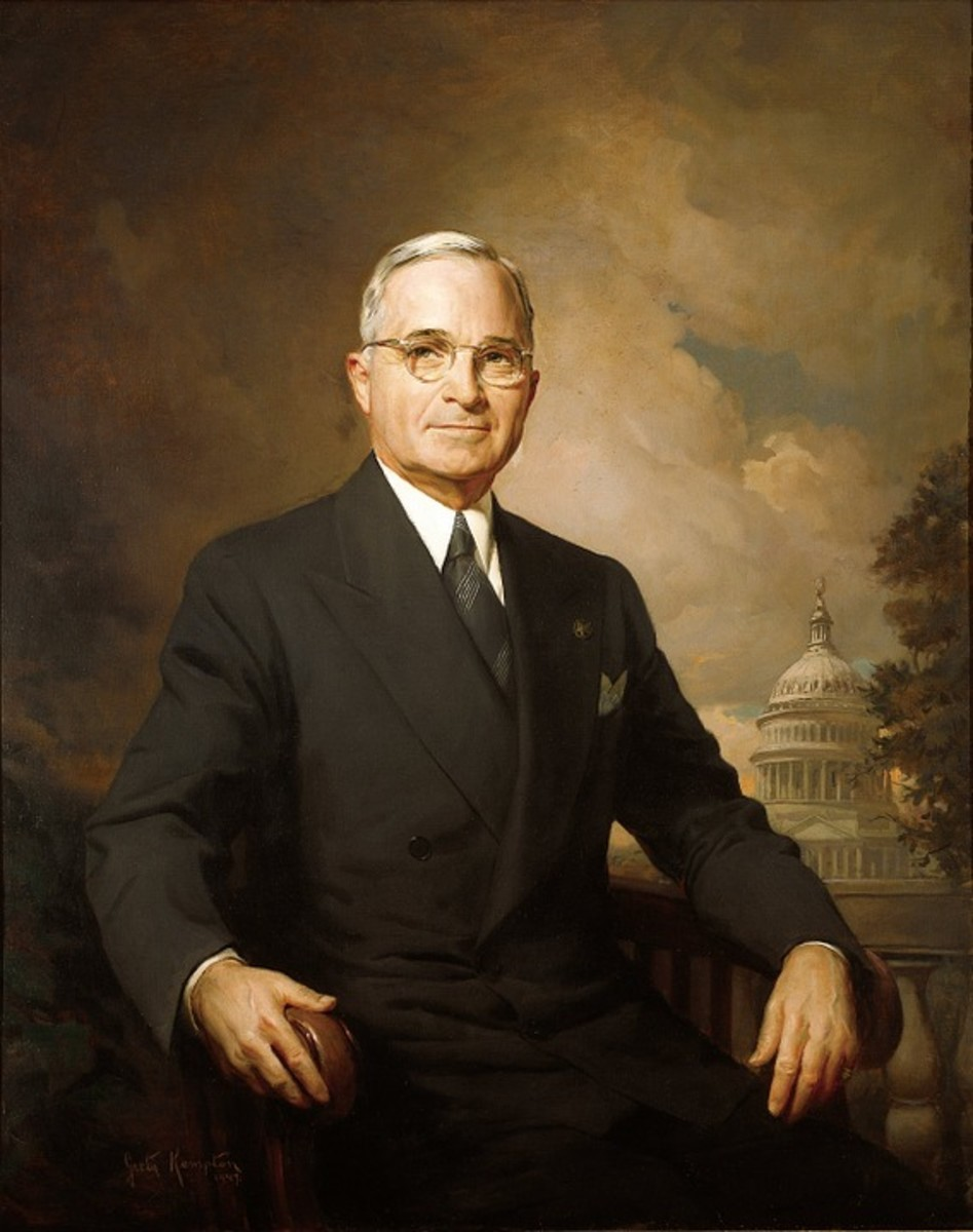 President Harry S. Truman,  33rd U.S. President