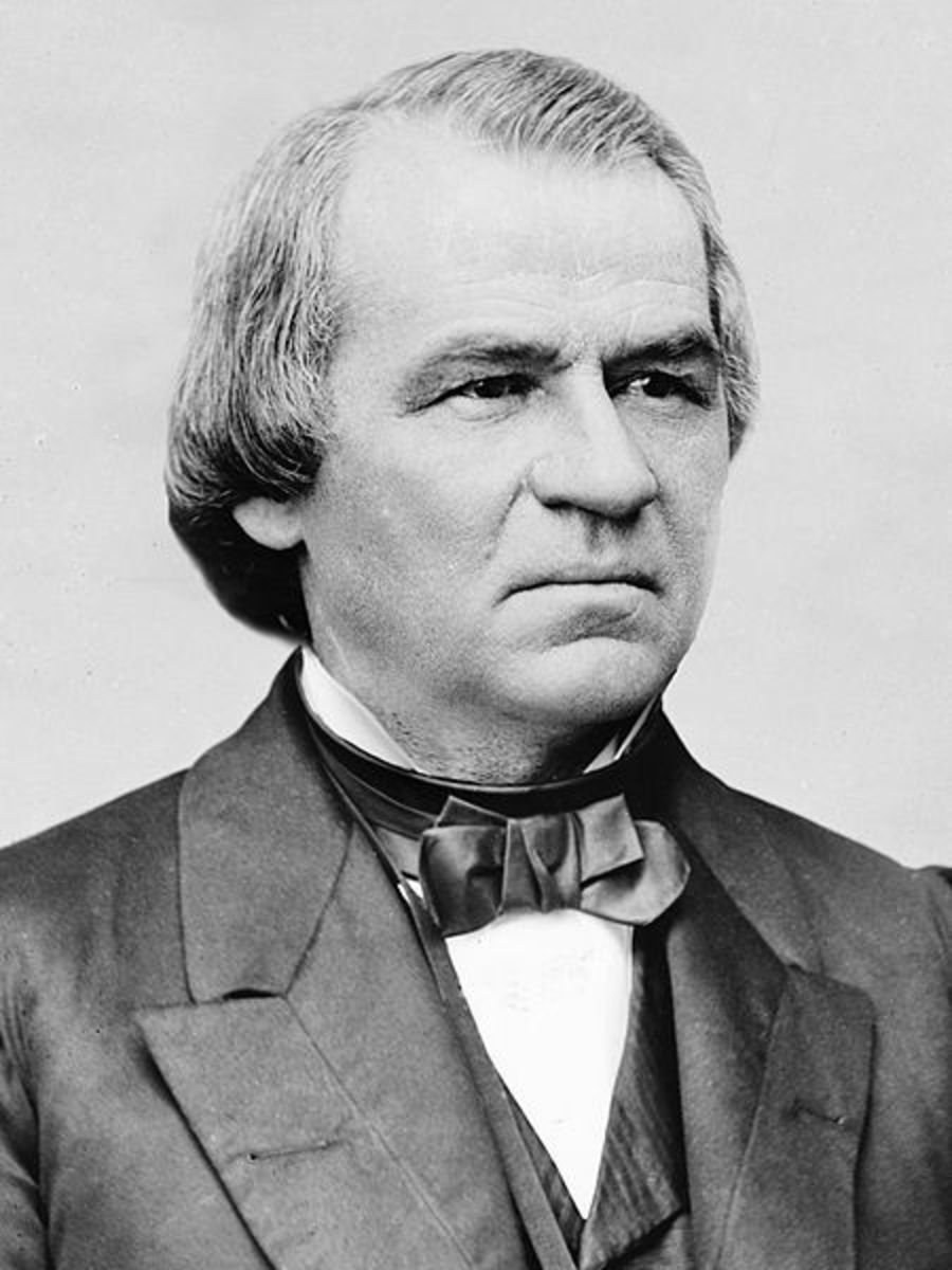 President Andrew Johnson, 17th U.S. President