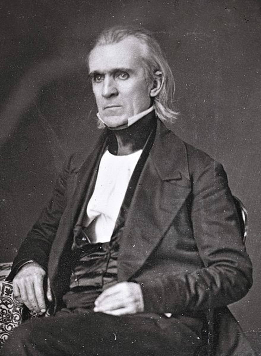 President James Polk, 11th U.S. President
