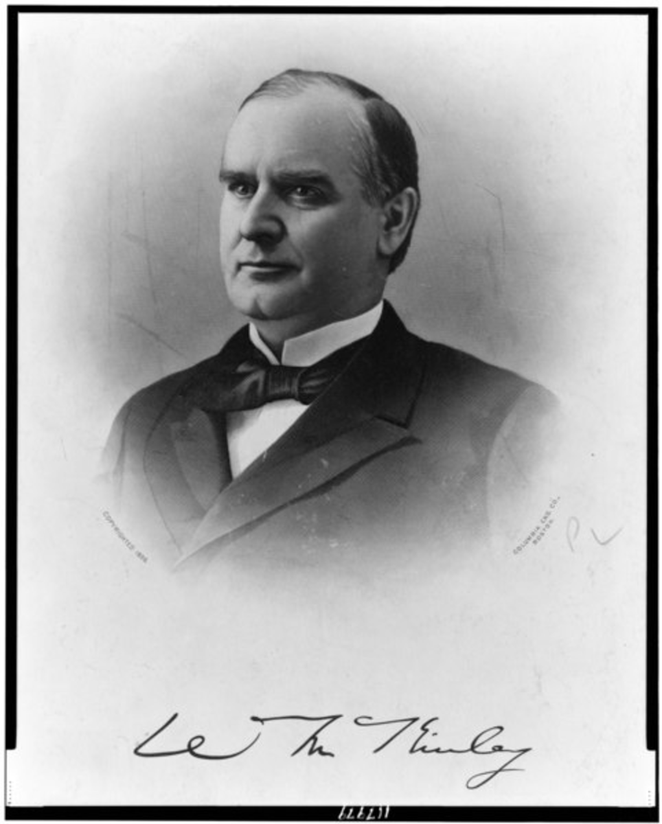 President William McKinley, 25th U.S. President