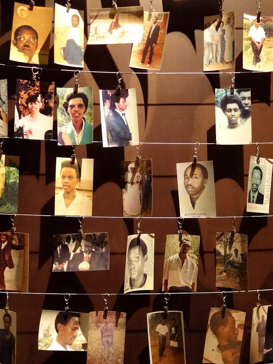 Genocide Memorial in Rwanda.
