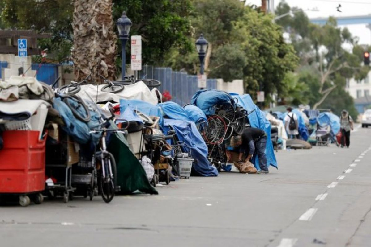 Reports find one-third of L.A.'s homeless are black.
