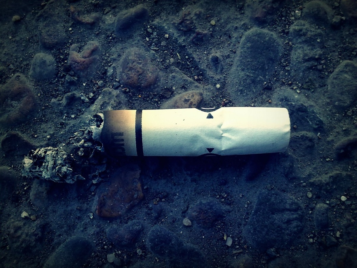 It can take years for cigarette butts to biodegrade.