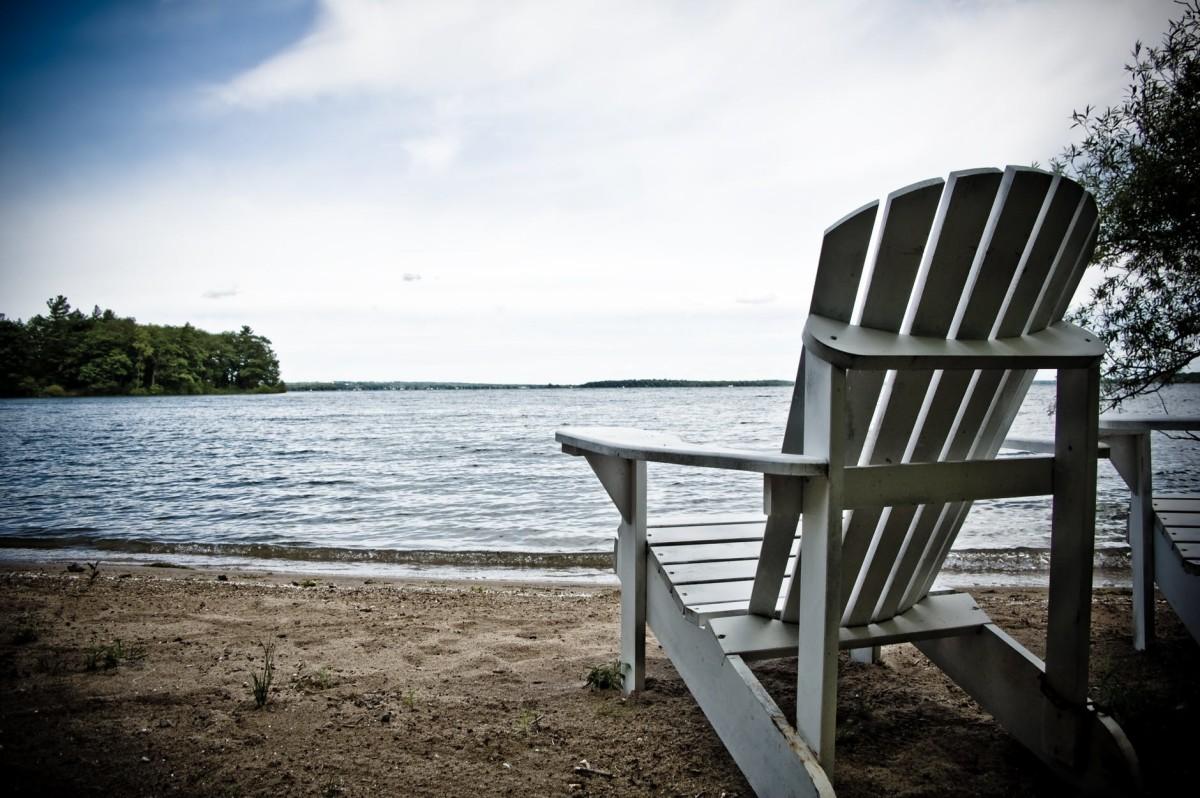 This is a Muskoka chair. That's right a Muskoka chair.