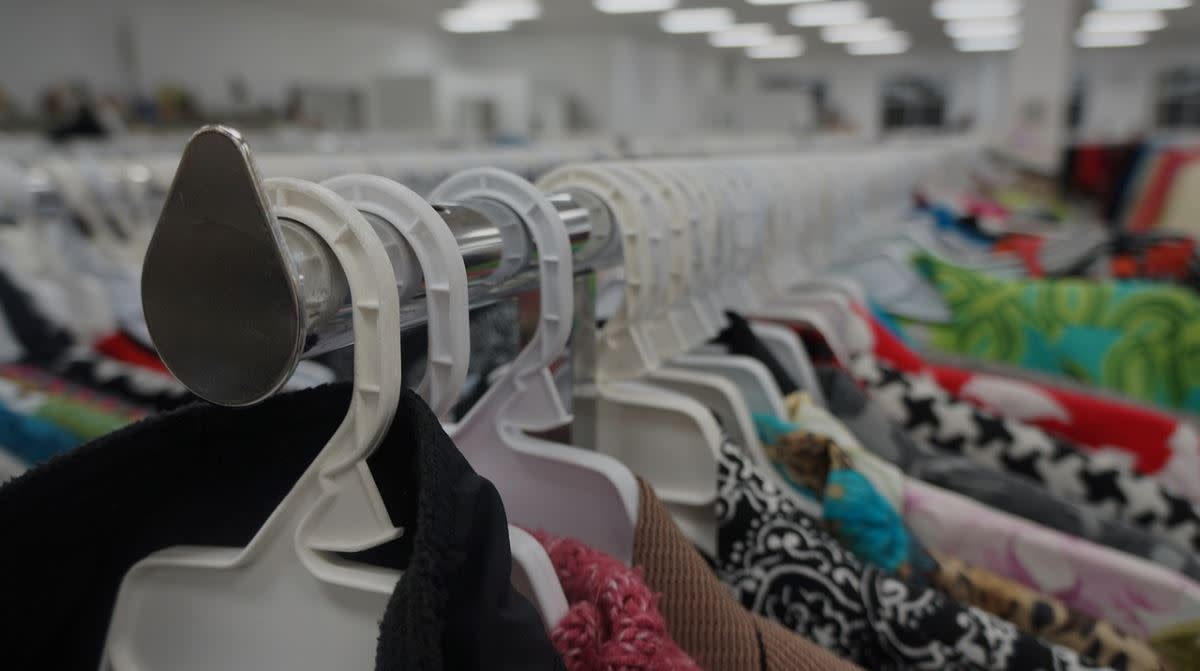 Charity thrift stores resell donated items to provide jobs for people with disabilities and other barriers to employment.